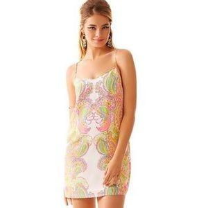 Lilly Pulitzer Dusk Hottie Pink Slip Dress